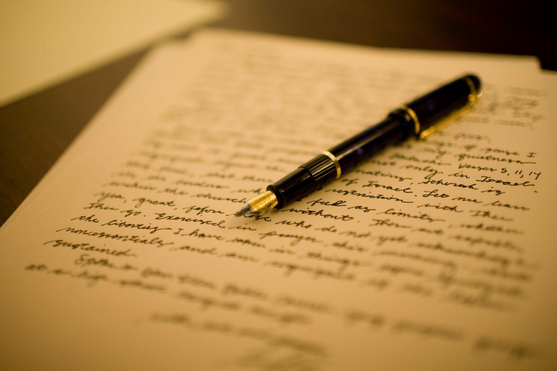 Datant lettre d'affaires formelle