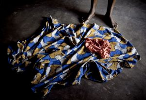 Victim of sexual violence in conflict