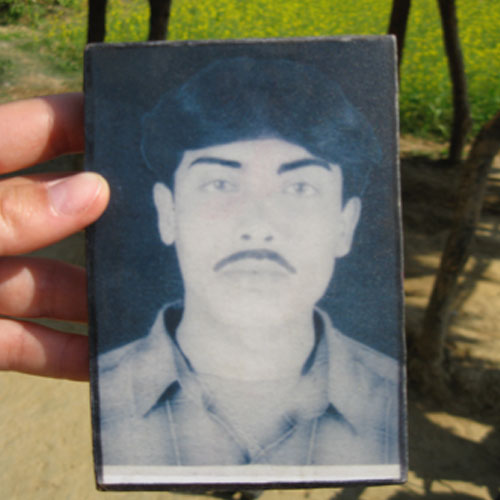 Prem Prakash, one of the disappeared young