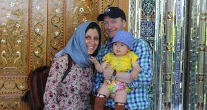 Nazanin and Richard Ratcliffe and their daughter Gabriella.