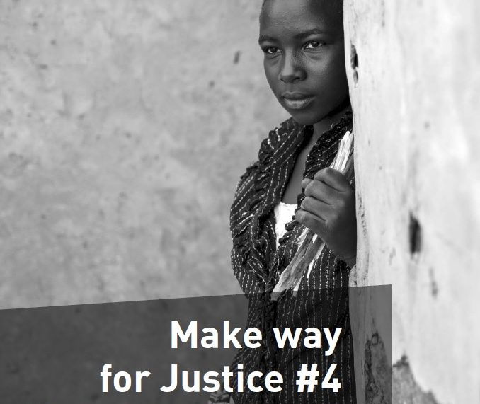 Cover Make Way for Justice #4