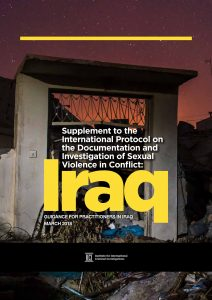 Cover of Iraq report on sexual violence