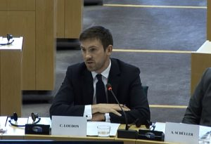 Charlie Loudon addresses European Parliament workshop on universal jurisdiction