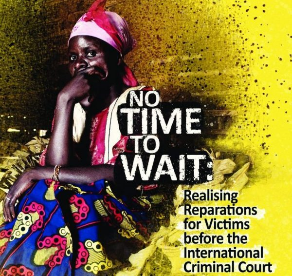 cover of the report No Time to Wait