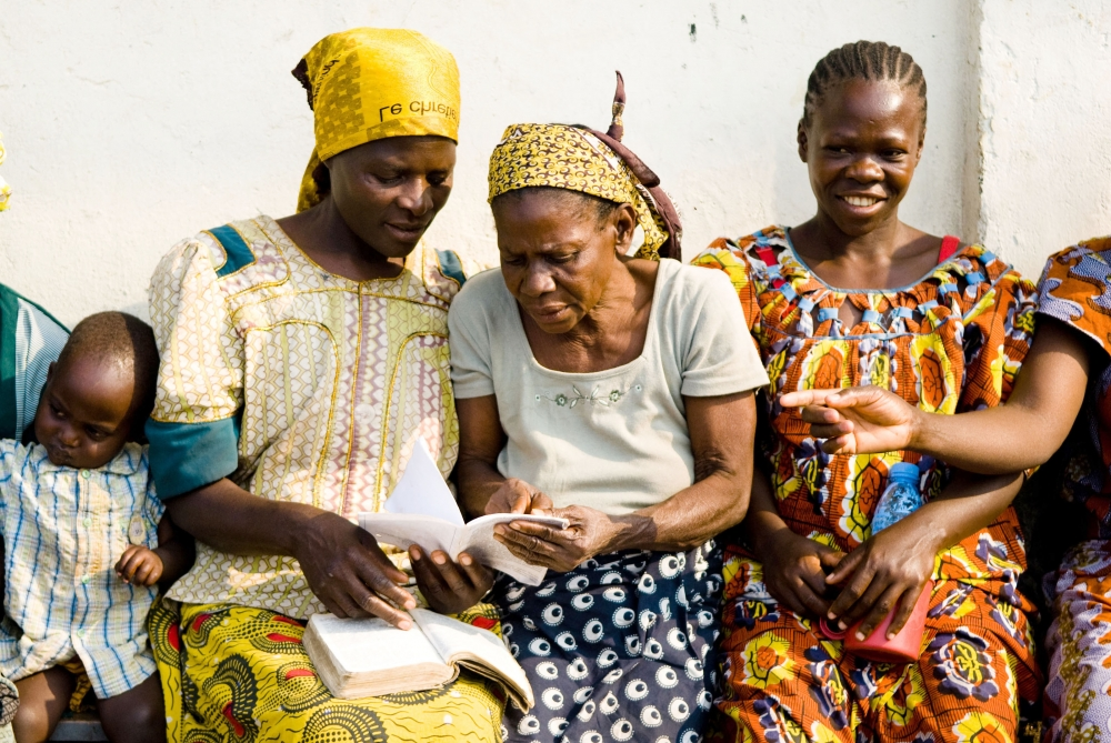 Photo by Aubrey Graham, IRIN, victims of sexual violence in the DRC.