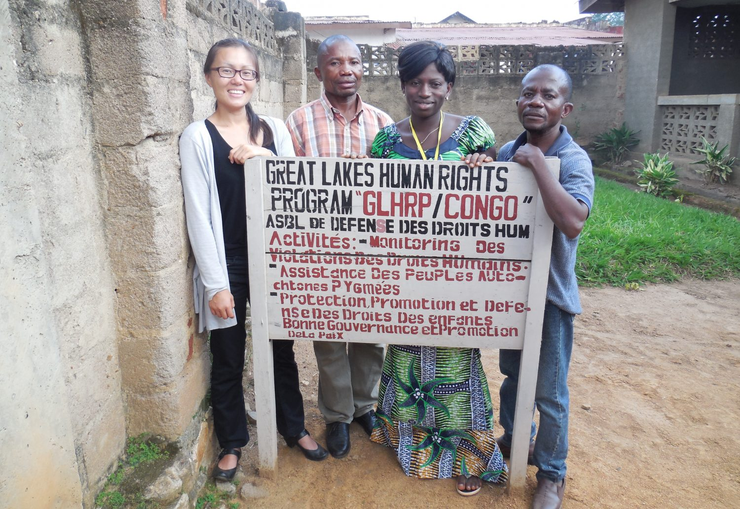 REDRESS with partners in Congo