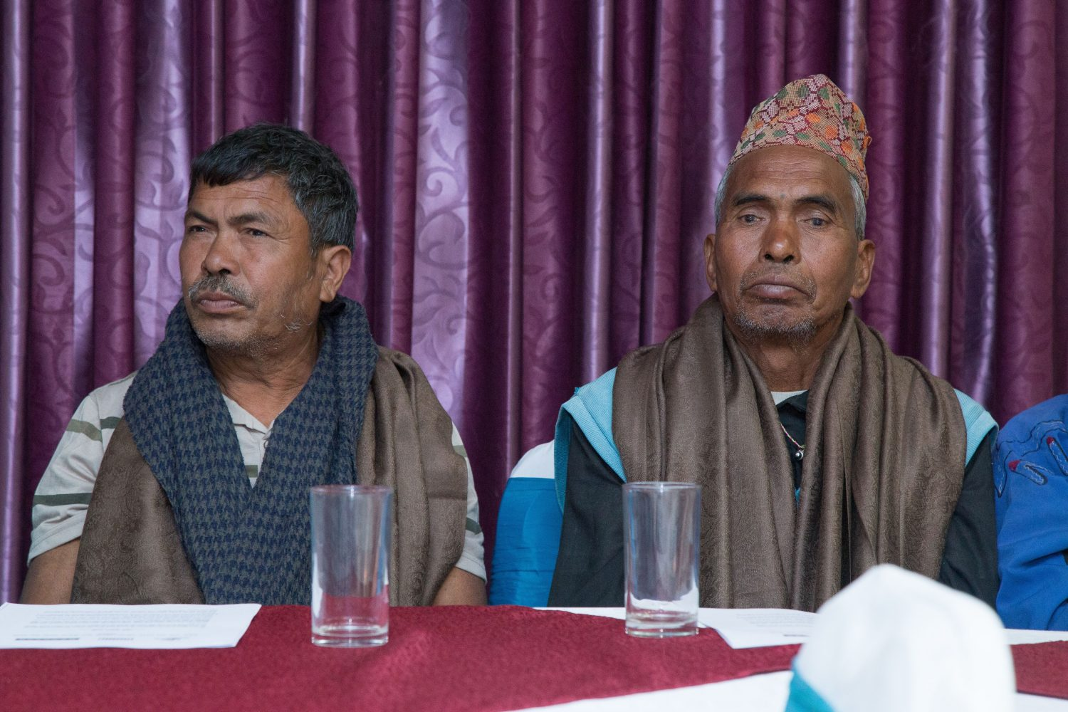 Victims of the conflict in Nepal