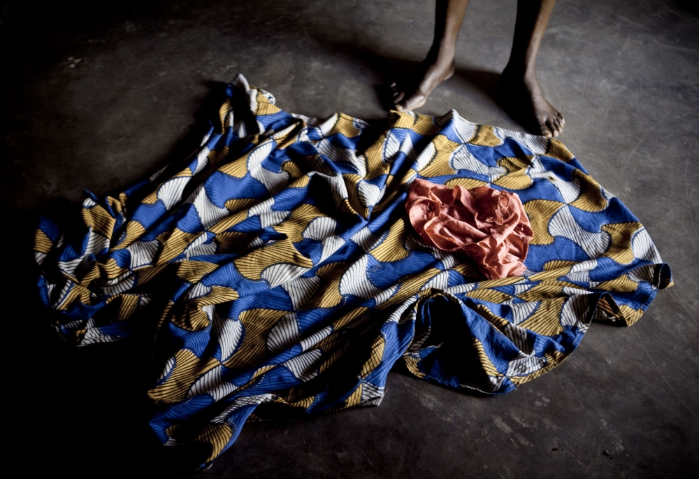 Sexual violence victim in the DRC.