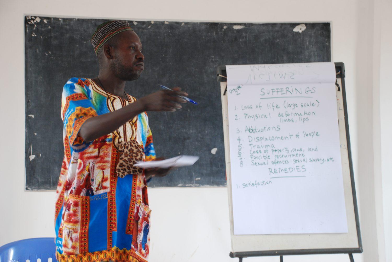 Training in Uganda