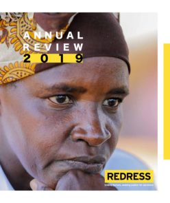 Cover REDRESS Annual review 2019