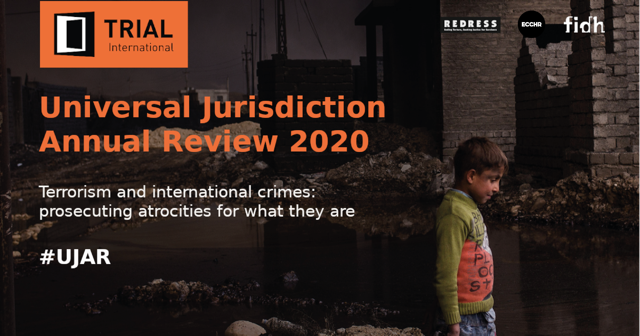 Cover of Universal Jurisdiction Annual Review 2020