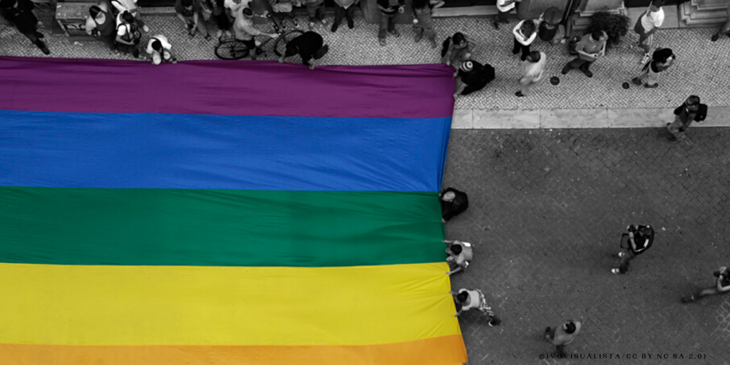 Banner of the Crowdfunding Campaign on LGBT+ Discriminatory Torture