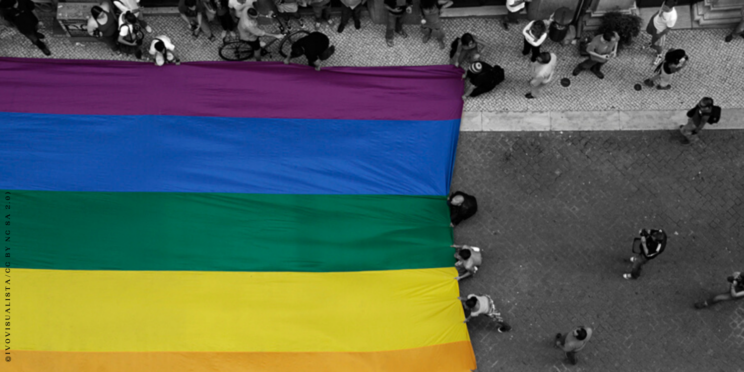 Banner Crowdfunding Campaign Promoting Justice for LGBT+ Survivors of Torture