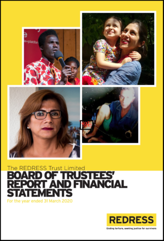 Cover Board of Trustees Report 2020