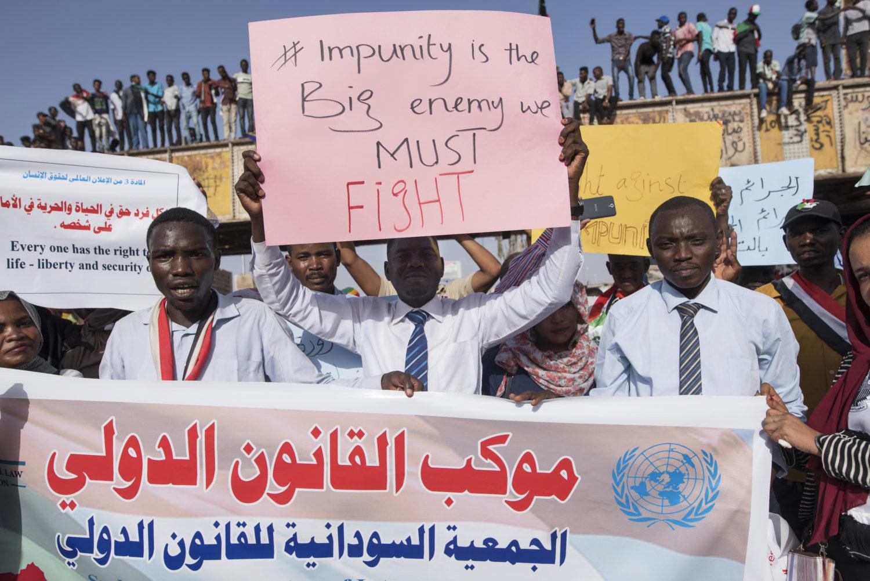 Pro-democracy protests in Sudan