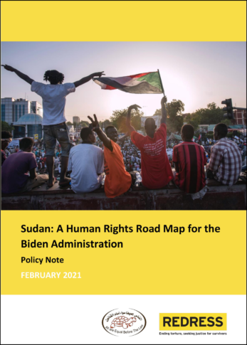 Cover A Human Rights Roadmap for the Biden Administration on Sudan