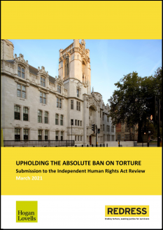 Upholding the Absolute Prohibition on Torture Cover