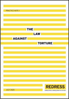 The Law Against Torture cover