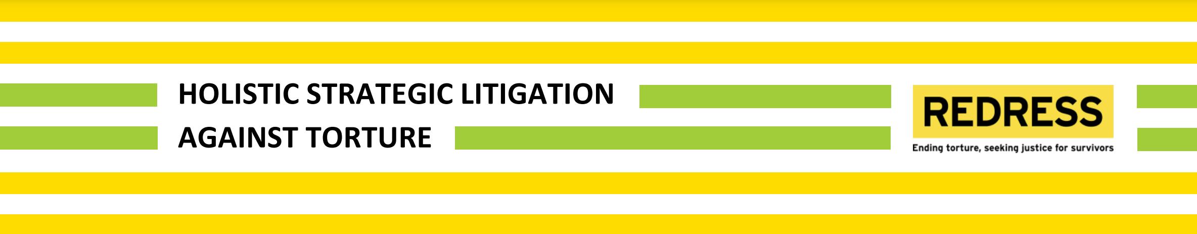 Training Modules on Strategic Litigation against Torture
