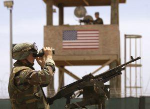 US soldier at Guantanamo Bay